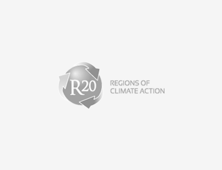 R20 Regions of climate action grey logo